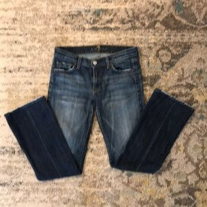7 for all mankind jeans•size 27• great condition!